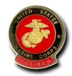 Custom Military Theme Stock Lapel Pin