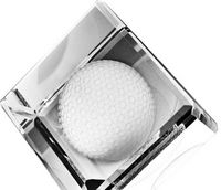 Standing Crystal Cube 3D Golf Ball