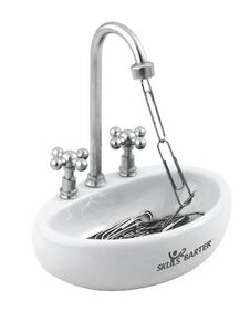Custom Printed Bathroom Sink Paperclip Holders