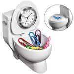 Custom Toilet Clock