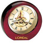 Custom Hi Gloss Wooden Moving Gear Clock