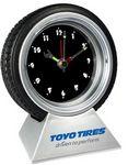 Custom Tire Clock