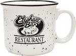 Custom 14 Oz. White Camper Collection Ceramic Mug