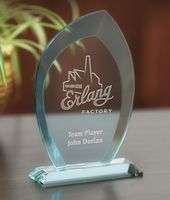 Jubilee Jade Crystal Award