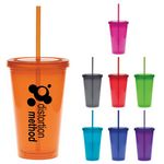 Custom 16 Oz. Color Carnival Cup