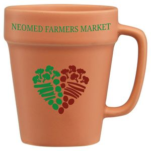 Custom Imprinted Flower Pot Mugs!