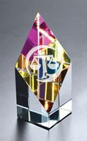 Small Opti-Prism Optical Crystal Award