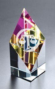 Small Opti-Prism Optical Crystal Award