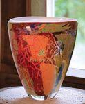 Custom Vida Art Glass Award