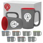 Custom 16 Oz. The Slat Series Mug Gift Set