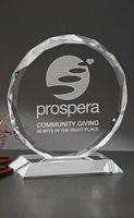 Large Ravenna Optical Crystal Award