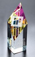 Large Opti-Prism Optical Crystal Award