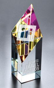 Large Opti-Prism Optical Crystal Award