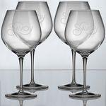 22.25 Oz. Crescendo Collection Bourgogne Wine Glass (Set of 4)