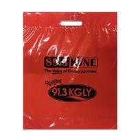 "Short Run Patch Handle Bag 12""15""3"""