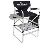 Custom Bar Height Director Chair w/Folding Side Table