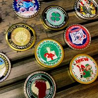Photo Dome Challenge Coin