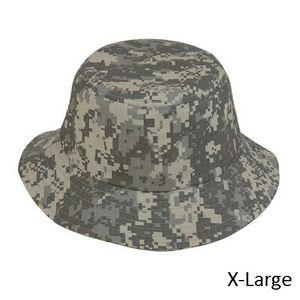 e61eaf8289143 Pixel Camouflage Washed Bucket Hat - Blank (7 3/8