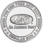 Custom Aluminum Coin - Medallion (0.984
