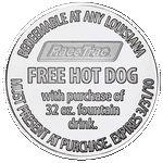 Custom Aluminum Coin high volume - Medallion (1-1/4