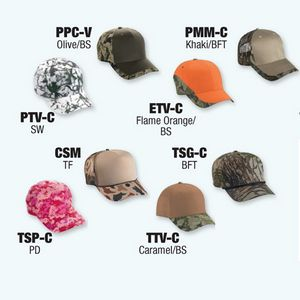 Promotional Product - Basic Camouflage Sample Pack (Free UPS Ground Freight  - CONT US ONLY)