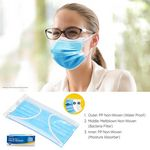 Custom Box Of 50 Individually Packaged Disposable Face Masks