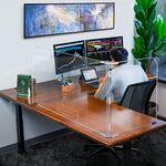 Custom Office 2 Panel Desktop Partition Safety Barrier