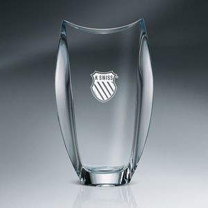 Orbit Vase Crystal
