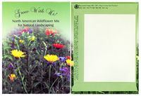Grow With Us-Theme Series Wildflower Mix Seeds - Digital Print/ Back Imprint