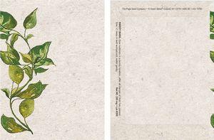Watercolor Series Basil Seed Packet - Digital Print/Packet Back Imprint