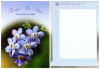 Theme Series Forget Me Not Seeds - Digital Print/ Back Imprint