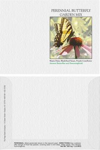 Impression Series Butterfly Mix Flower Seeds - Digital Print/ Front & Back Imprint