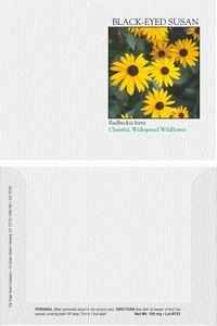 Impression Series Black Eyed Susan Flower Seeds - Digital Print/ Front & Back Imprint