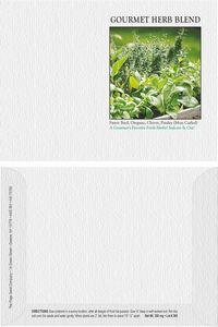 Impression Series Herb Blend Seeds - Digital Print/ Front & Back
