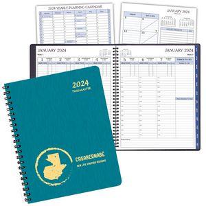 TimeMaster Time Management Planner w/ Shimmer Cover