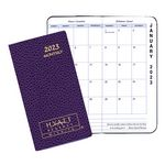 Custom Monthly Pocket Planner w/ Cobblestone Cover - Upright Format