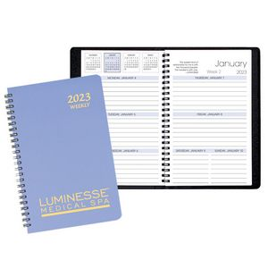 Weekly Desk Appointment Planner w/ Twilight Cover