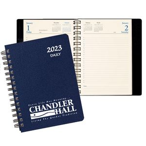 Daily Desk Planner/Leatherette Cover