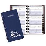 Custom Medium Address Book w / Leatherette Cover