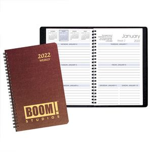 Weekly Desk Appointment Planner w/ Illusion Cover