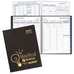 Custom Time Management Planner w/ Continental Vinyl Cover