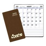 Custom Large Print Monthly Pocket Planner w/ Canyon Cover (3-1/2