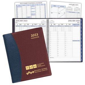 TimeMaster Time Management Planner w/ Carriage Vinyl Cover