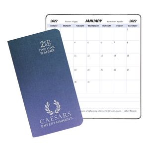 Two Year Pocket Planner w/ Illusion Cover