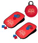 Portable Pop-Up Cornhole Set