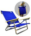 RIO Beach Classic 5-Position Lay Flat Beach Chair