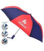 The Revolution Alternating Color Folding Umbrella