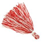 500-Streamer Pom Poms w/Mascot Handle - Paw End