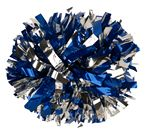 1000-Streamer Metallic Cheer Pom Poms - Two or Three Mixed Colors