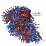 750-Streamer Solid Paddle Handle Pom Poms
